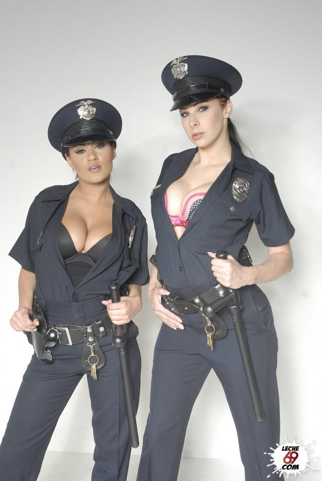 fotos tetonas xxx policía