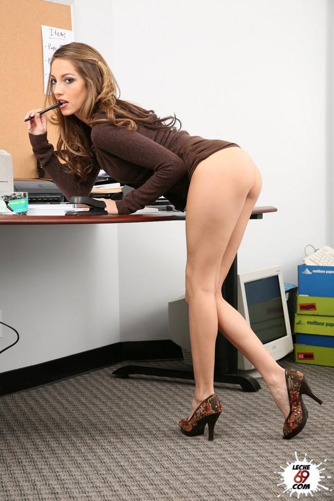 videos rubias secretarias porno