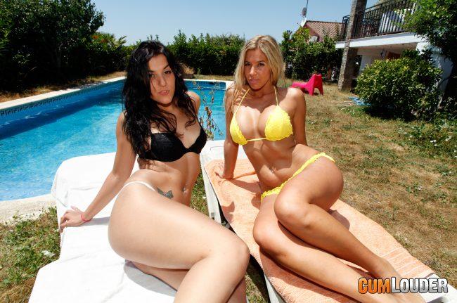 dos chicas guarras